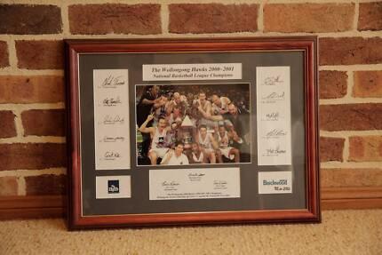 The Illawarra Hawks NBL Champions 2000 & 2001 (Memorabilia)