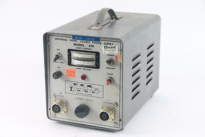 Pek Labs 401 Portable Analog Universal Point Source Power Supply