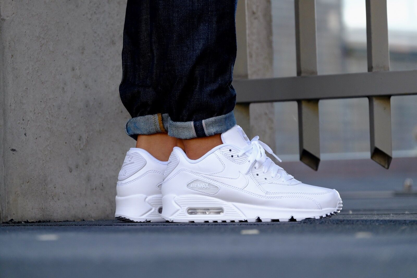 Nike Air Max 90 LEATHER Mens Shoes