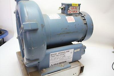 Egg Rotron Dr404al58m Regenerative Blower 1.0 Hp 115230v 1 Phase Used