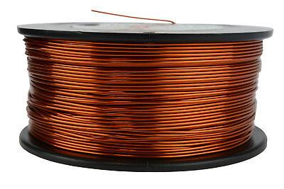 Temco 18 Awg Gauge Enameled Copper Magnet Wire 200c 1.5lb 298ft Coil Winding