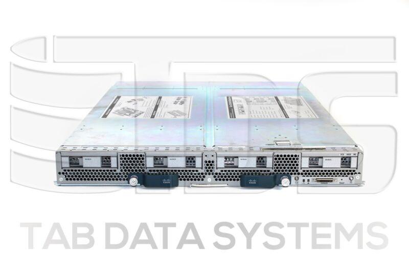 Cisco Ucs B420 M3 4x Xeon E5-4650 V2 Cpu, 64gb Ram, Vic