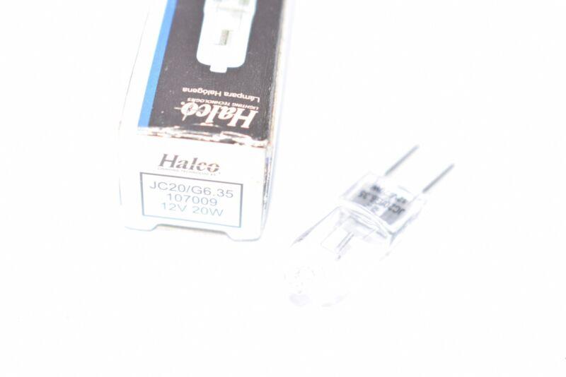 NEW Halco JC20/G6.35 107009 12V 20W Prism