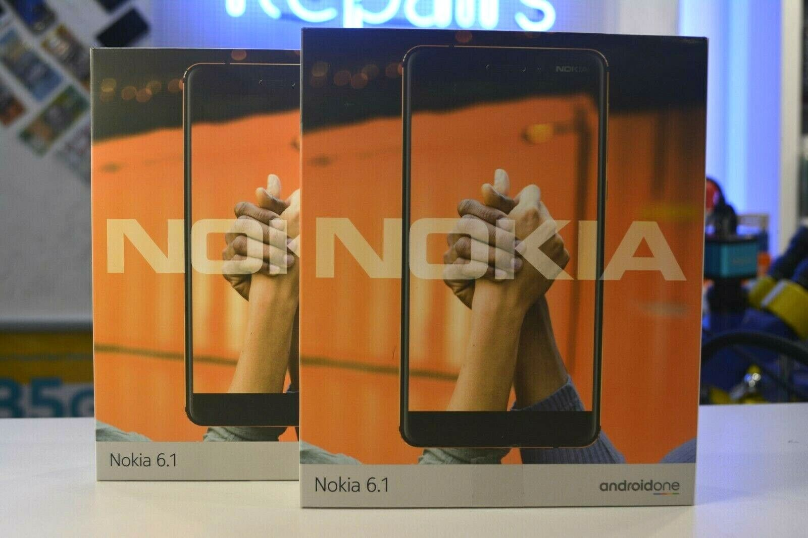 """Android Phone - Brand New Nokia 6.1 (5.5"""", 32GB/3GB, Android One, Dual Sim) - Black Copper"""