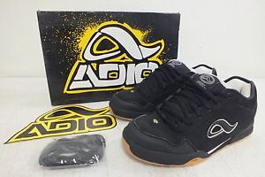 Adio Quality Footwear Kenny Anderson Black/White Skateboarding Shoes US 6/38