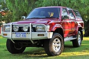 1992 Toyota Hilux Surf SSR-X 4WD Automatic Turbo Diesel Carlisle Victoria Park Area Preview