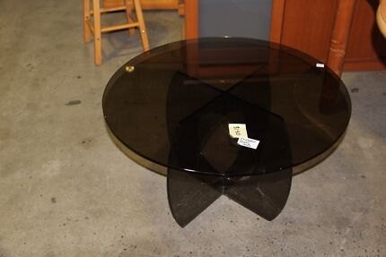 Smoked Glass Coffee Table Virginia Brisbane North East Preview