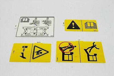 Genie Decal Kit Symbol S60 82760 82760gt