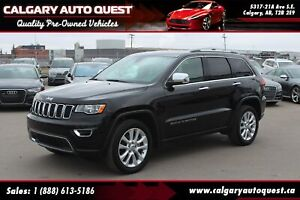 2017 Jeep Grand Cherokee Limited 4WD/B.CAM/LEATHER/SUNROOF