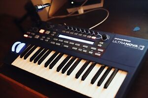 Novation Ultranova Synthesizer, Vocoder, Audio interface