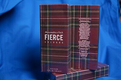 ❗️ NEW Abercrombie LIMITED Holiday FIERCE Cologne 3.4 oz 100 mL 💯 AUTHENTIC