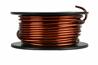 Temco Magnet Wire 10 Awg Gauge Enameled Copper 8oz 16ft 200c Coil Winding