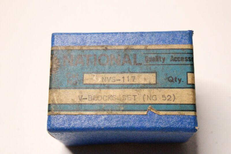 National Quality Accessories V-Blocks Set (NG52) (NVS-117)