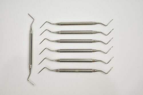 Hu-Friedy Dental Surgical Elevator EHB13/14 Heidbrink  - Set of 6 -  Plus 1 FREE