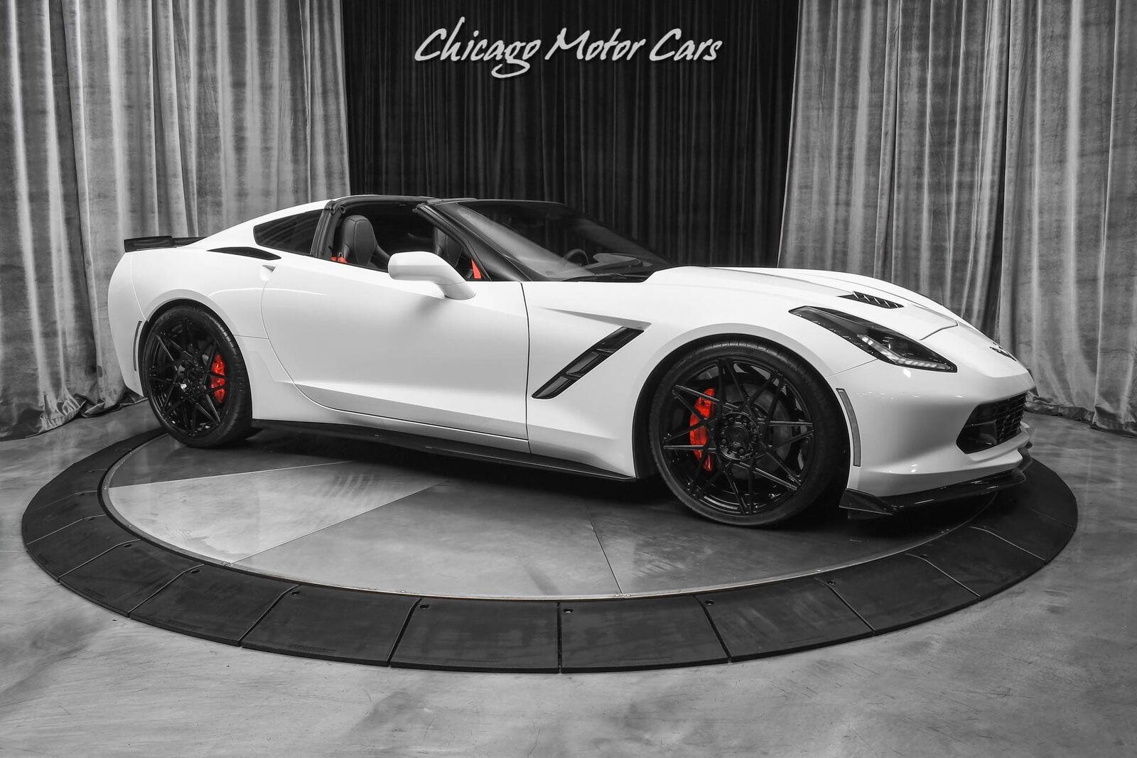 2016 White Chevrolet Corvette Stingray    C7 Corvette Photo 6