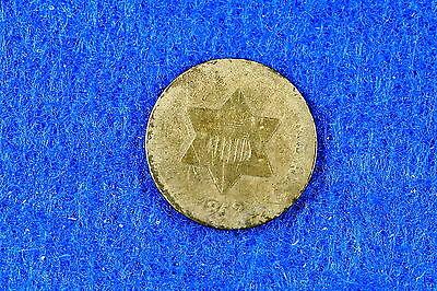 Estate  Find 1852  -  Three Cent Silver! #G5275