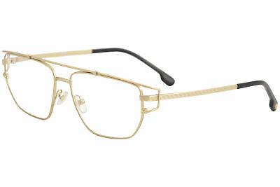 Versace Men's Eyeglasses VE1257 VE/1257 1410 Matte Gold Optical Frame (Gold Versace Frames For Men)