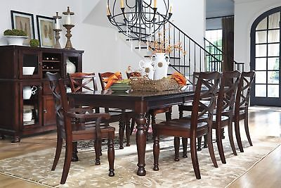 Ashley Furniture Porter 9 Piece Dining Room Table Set