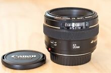 Canon 50mm 1.4 excellent condition Curl Curl Manly Area Preview