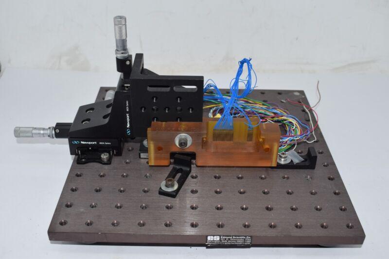 NRC 460A XYZ Translation Stage Thorlabs 973/579-7227 Edmund Scientific Optical