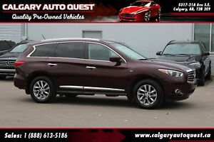 2015 Infiniti QX60 AWD/NAVI/B.CAM/3RD ROW/LEATHER