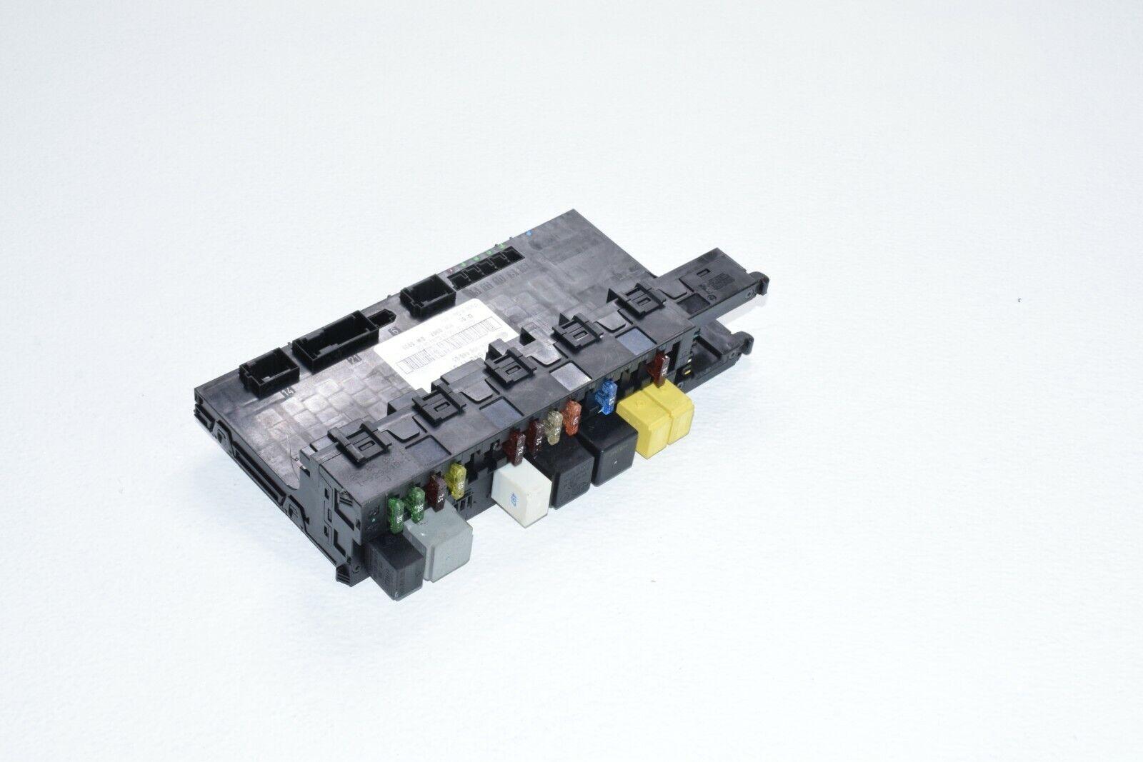 mercedes benz clk 350 500 550 63 rear trunk sam fuse box relay panel unit  oem   ebay  ebay