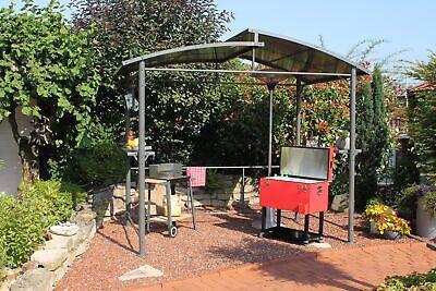 LECO Profi Grillpavillon XXL Pavillon Gartenpavillon Grillpavillon Gartenmöbel
