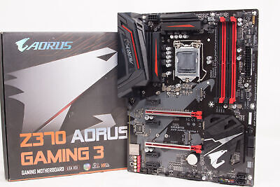GIGABYTE Z370 AORUS Gaming 3 LGA 1151 Intel Z370 Motherboard