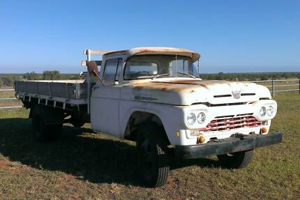 1960 FORD F500 Truck Southern Cross Charters Towers Area Preview