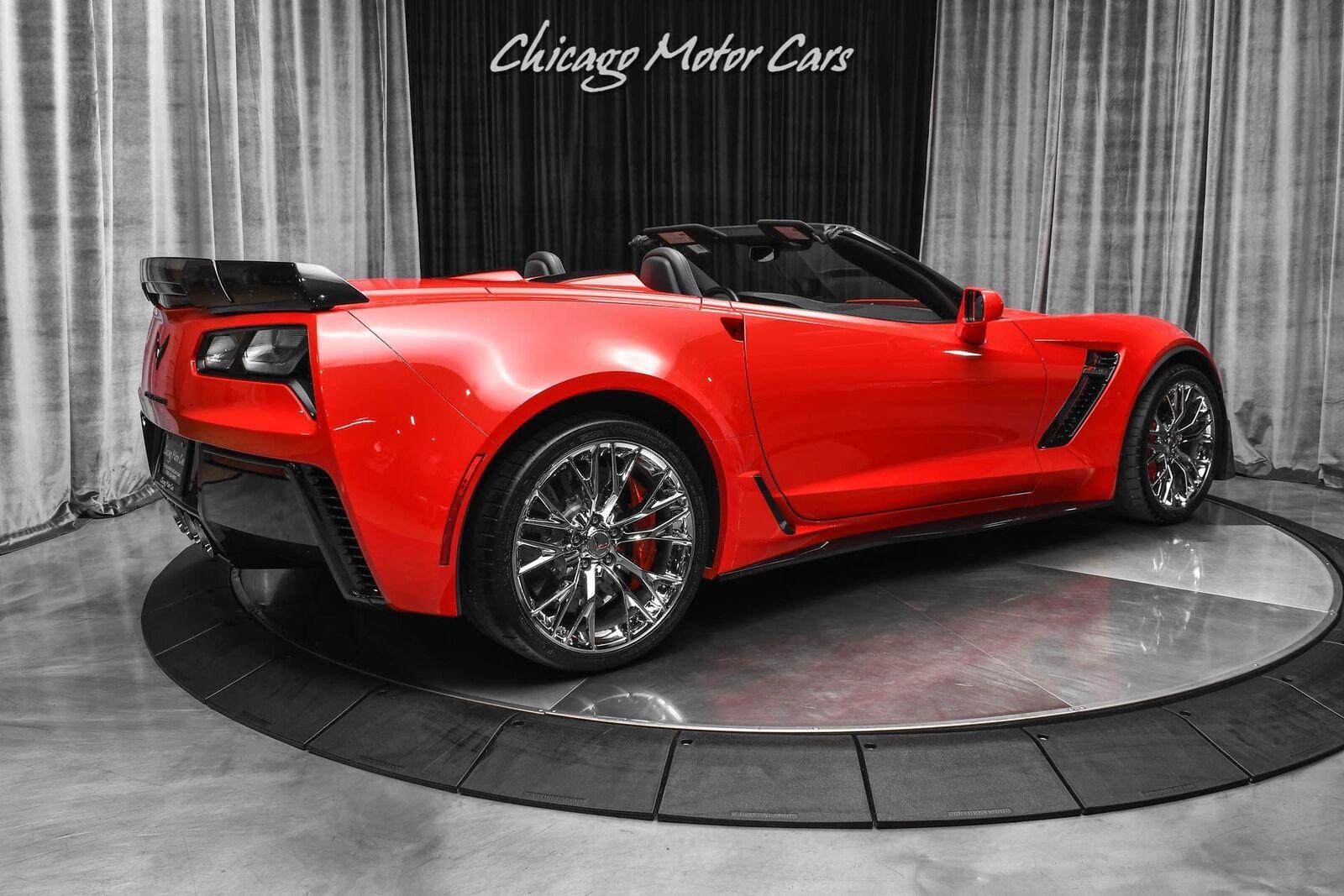 2015 Red Chevrolet Corvette Z06 2LZ | C7 Corvette Photo 5