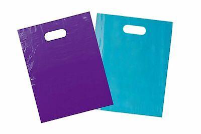 100 PCS Store Bags Retail Plastic Merchandise Bags 12