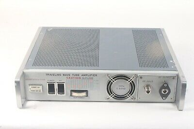 Hughes 1177h S Band 2.0-4.0ghz Traveling Wave Tube Amplifier