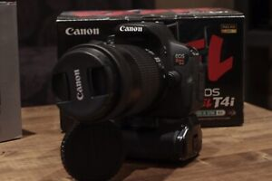 Canon T4i and Canon EFS 55-250mm