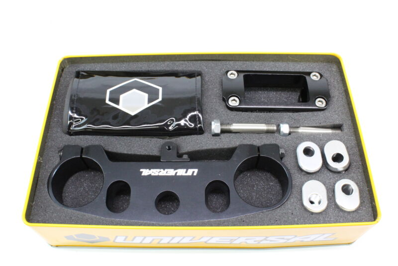 "Universal Top Triple Bar Mount Clamp 1 1//8/"" Suzuki RM125 05-07 RM250 04-07"