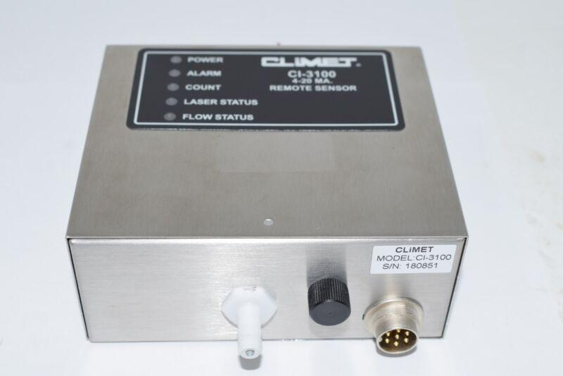 NEW CLIMET CI-3100 OPT Series Remote Sensor 4-20mA Monitor