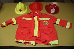 Fireman Helmet and Jacket Dress Up Duncraig Joondalup Area Preview