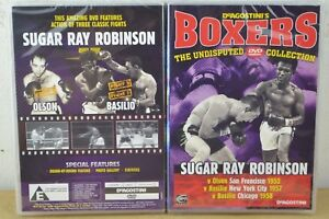 DeAgostini's Boxers The Undisputed Collection 11 Sugar Ray Robinson DVD