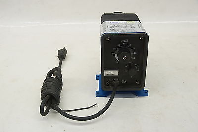 Pulsatron Metering Pump Le02sa-ptc1-xxx 0.95 Lph 150 Psi Max 115vac
