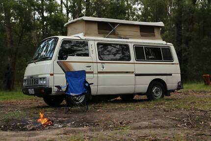 1985 Nissan Urvan Campervan Poptop Dual Fuel
