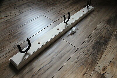 RUSTIC 3 Guitar Rack/Wall mount holder/Hanger/Color: Unstained - NEW