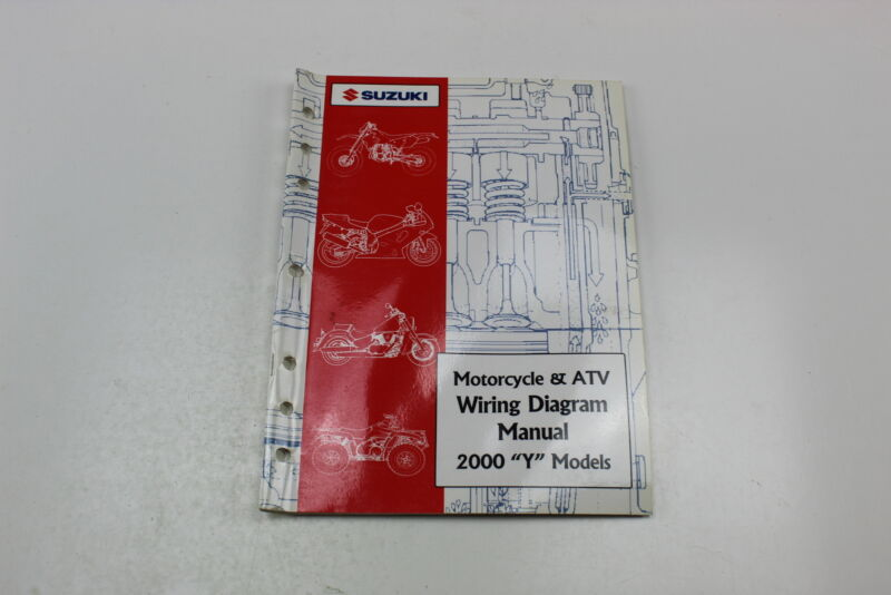 2000 Suzuki Y Models Motorcycle  U0026 Atv Wiring Diagram