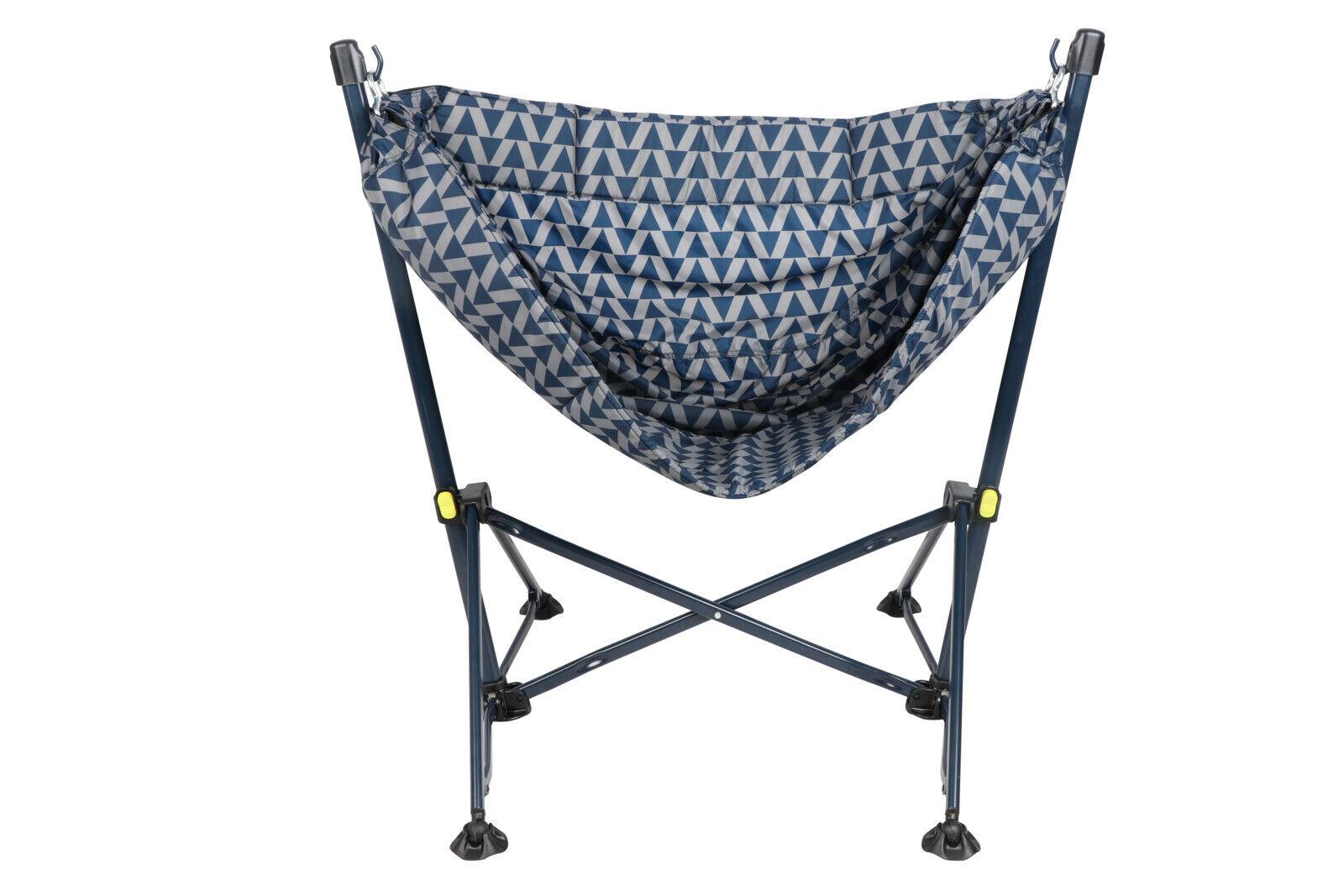 Ozark Trail Steel Folding Hammock Chair With Padded Seat Portable