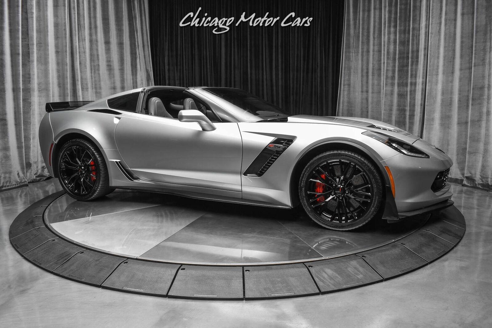 2016 Silver Chevrolet Corvette Z06 3LZ   C7 Corvette Photo 6