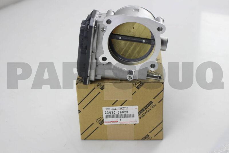 2203038020 Genuine Toyota Body Assy, Throttle W/motor 22030-38020