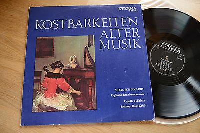 ETERNA 820826  Kostbarkeiten Alter Musik CAPELLA FIDICINIA Consort Musik