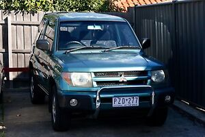 1999 Mitsubishi Pajero Io 4x4 SWB 2Door Northcote Darebin Area Preview