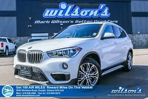 2019 BMW X1 xDrive Premium Package – ONLY 11,000 km!! AWD, L