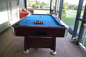 Pool Table with accessories Elimbah Caboolture Area Preview