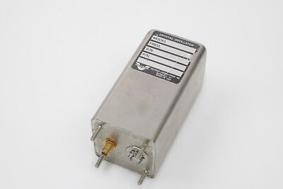 Vectron Crystal Oscillator 100 Mhz Frequency 224-8037 Used