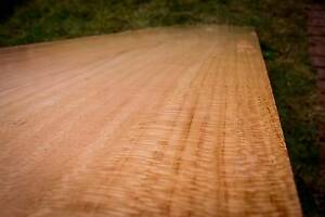 Wide silky oak timber slab, 226cm x 40-56cm x 39mm. Ref #13 Mount Lawley Stirling Area Preview